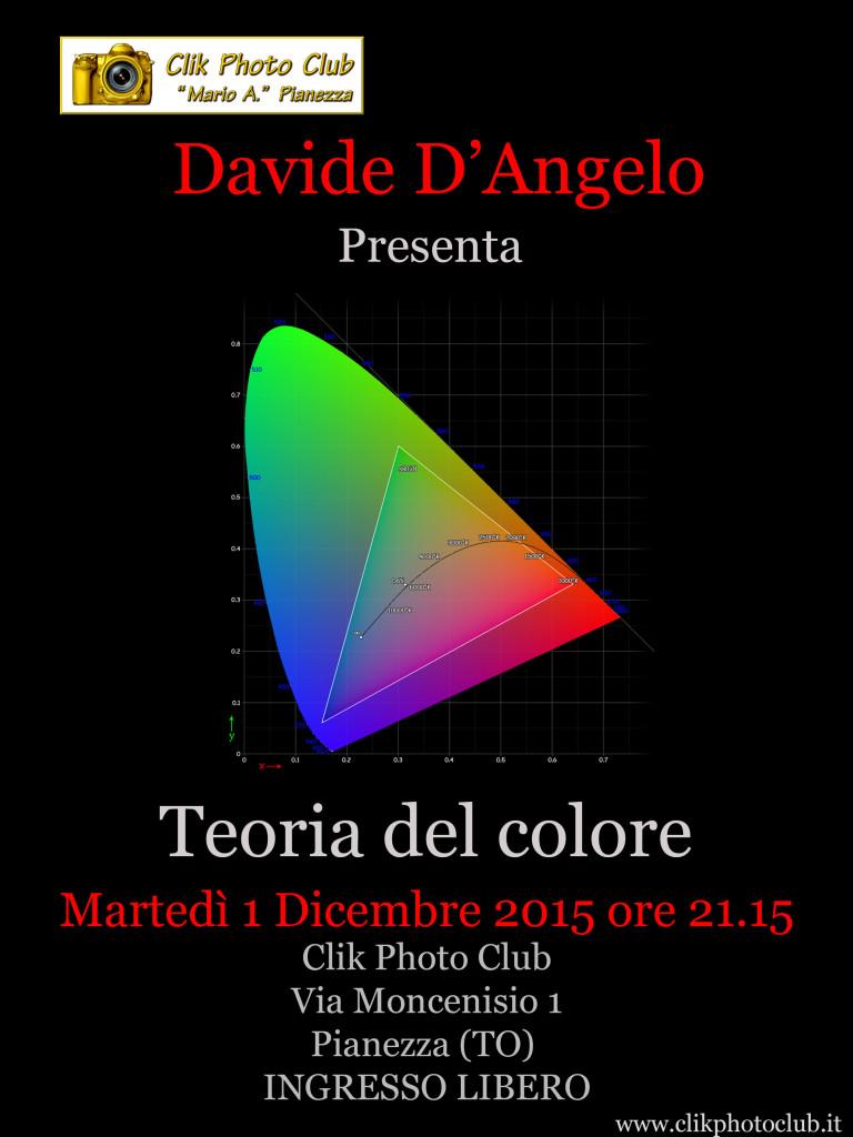 Martedì 1 Dicembre 2015