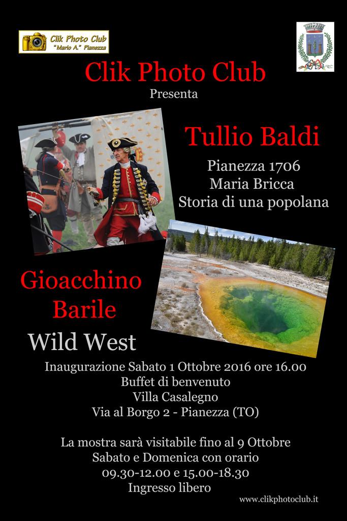 Mostra fotografica Tullio Baldi e Gioacchino Barile